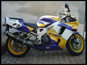 My Honda CBR900RR